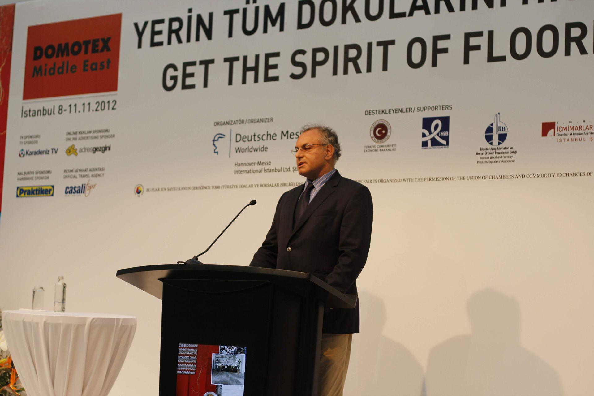 DOMOTEX Turkey 2012 Açılış Töreni