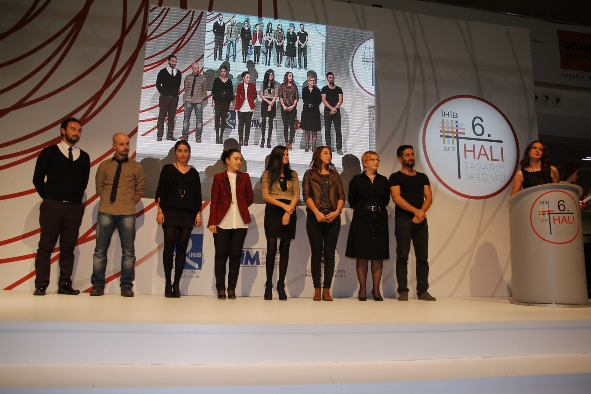 DOMOTEX Turkey 2012 İHİB Halı Yarışması Ödül Töreni
