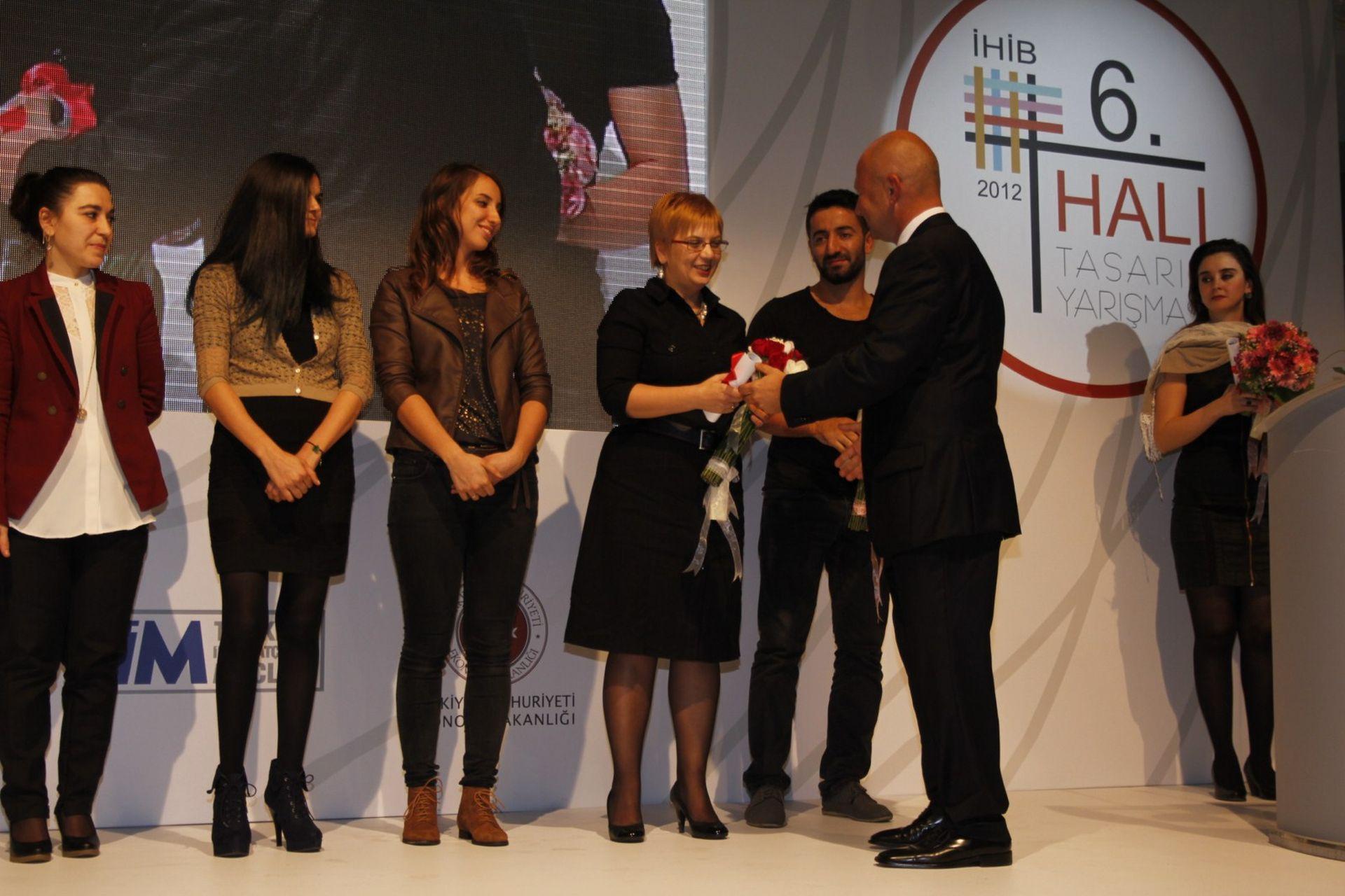 DOMOTEX Turkey 2012 IHIB Carpet Competition Award Ceremony