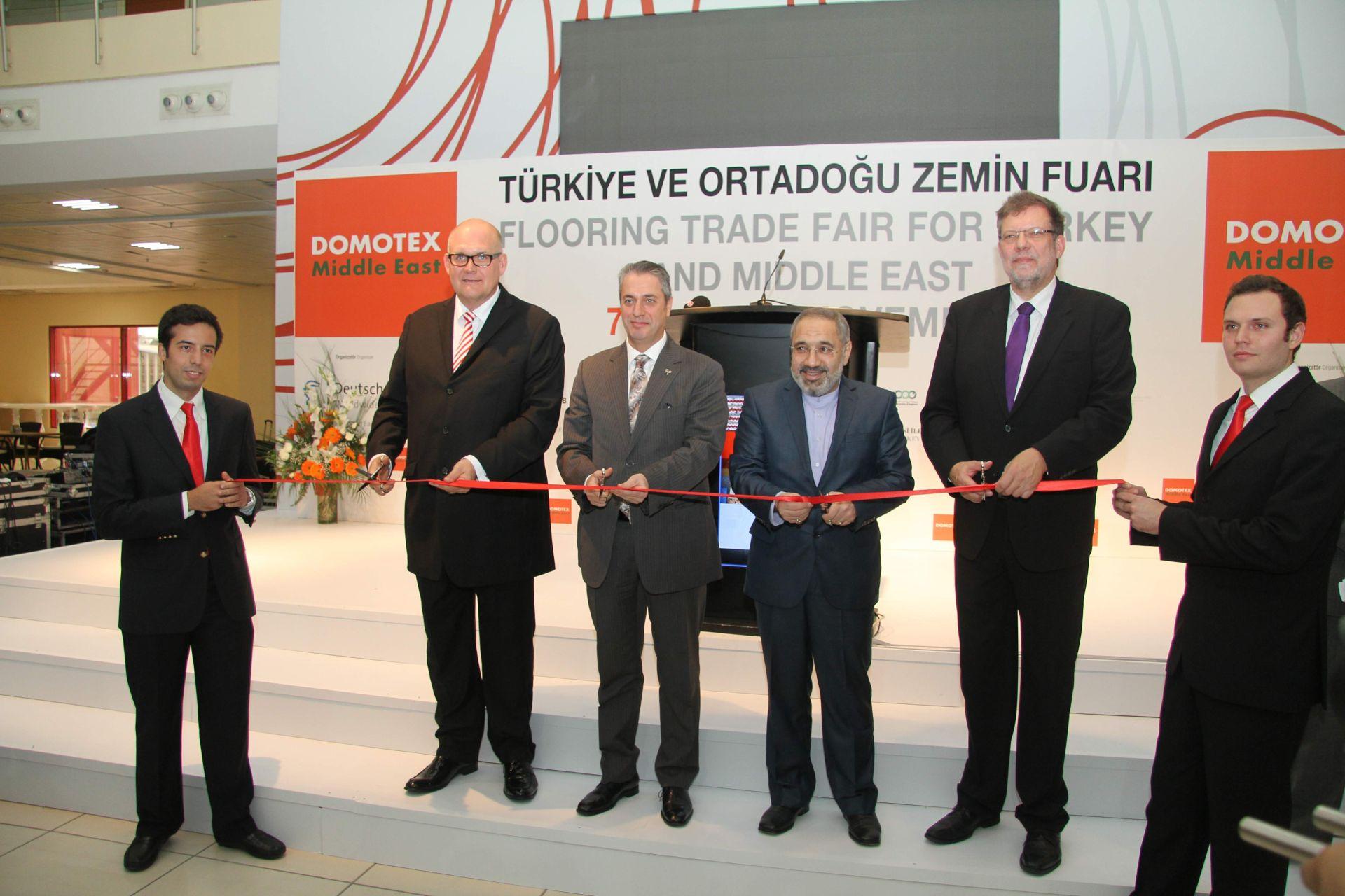 DOMOTEX Turkey 2013 Açılış Töreni