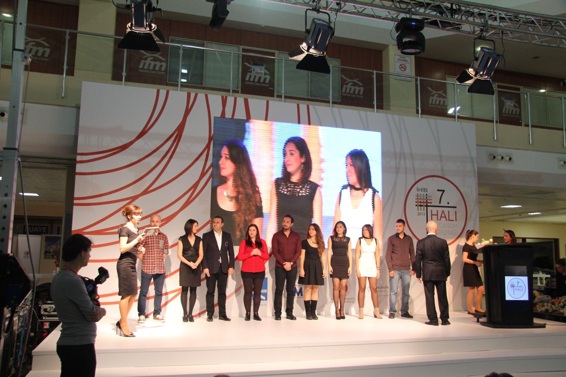 DOMOTEX Turkey 2013 IHIB Carpet Competition Award Ceremony