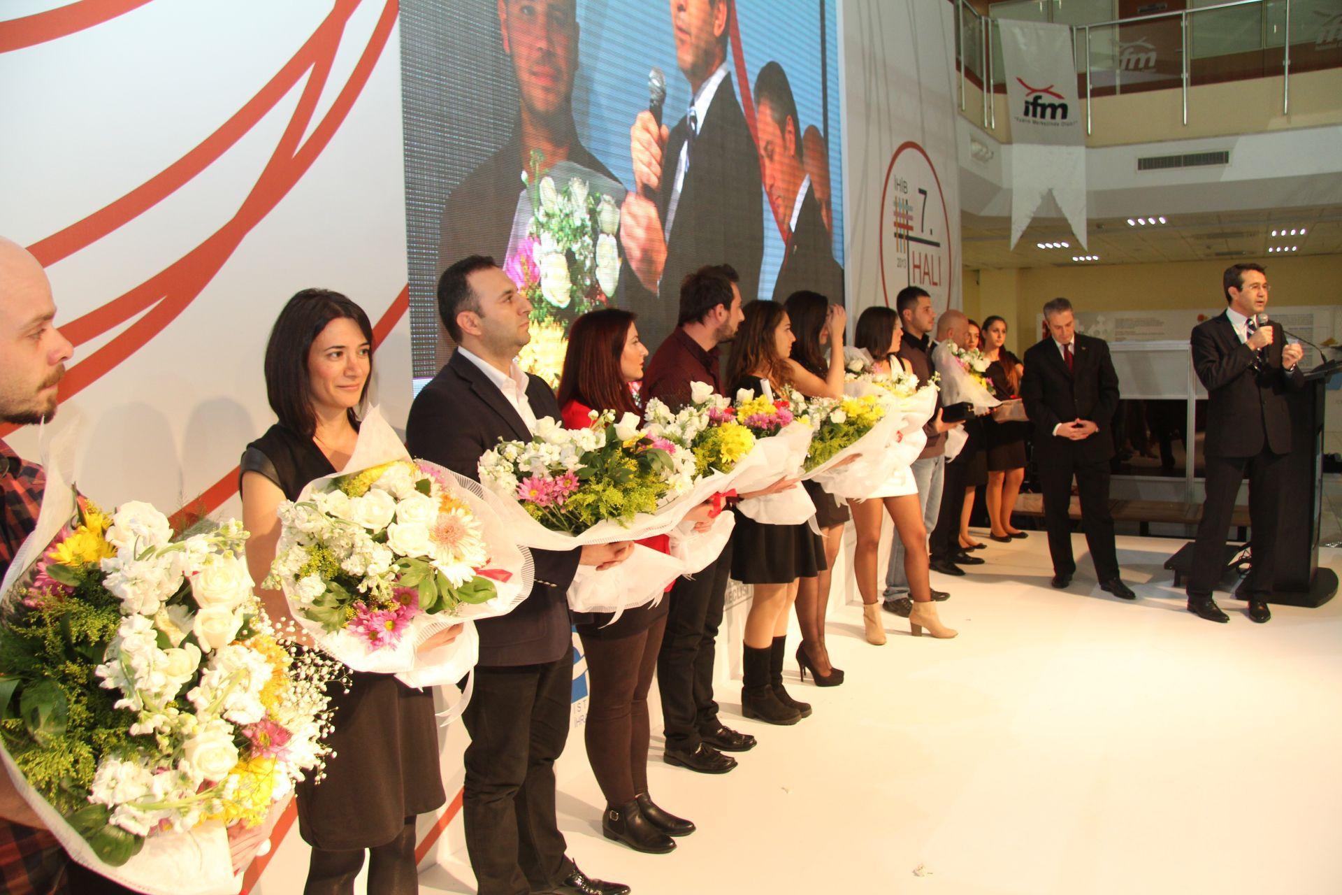 DOMOTEX Turkey 2013 İHİB Halı Yarışması Ödül Töreni