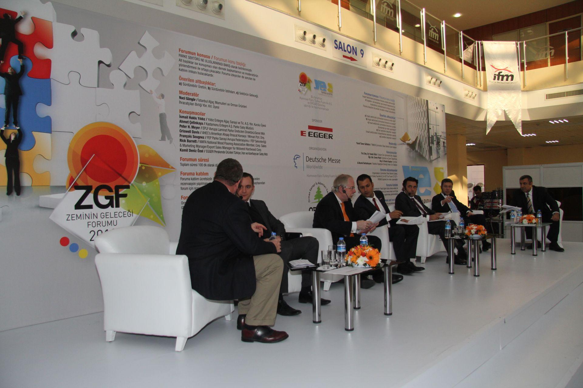 DOMOTEX Turkey 2013 Zeminin Geleceği Forumu