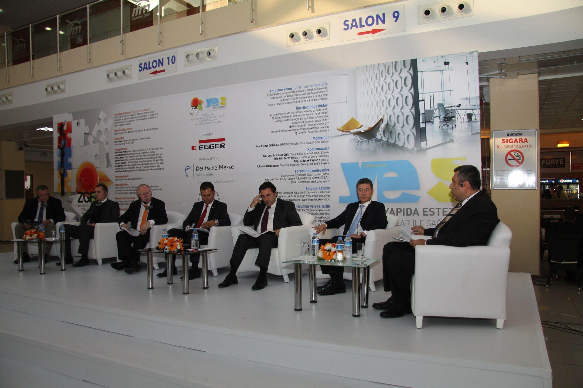 DOMOTEX Turkey 2013 Future of Flooring Forum